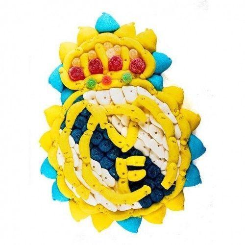 Tarta de Gominolas Real Madrid