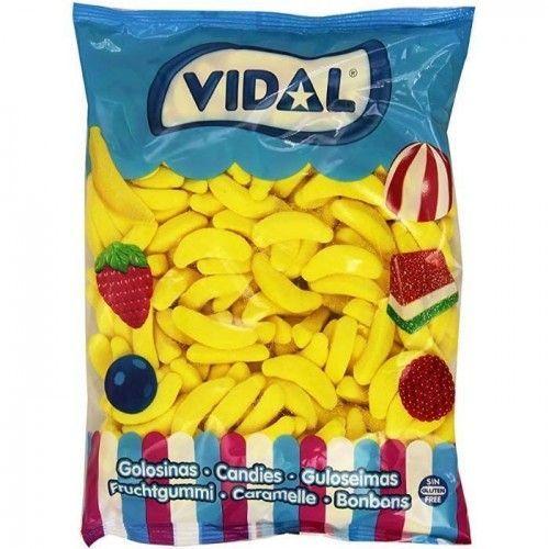 Gominolas Bananas Vidal 1 Kg/250 Uds
