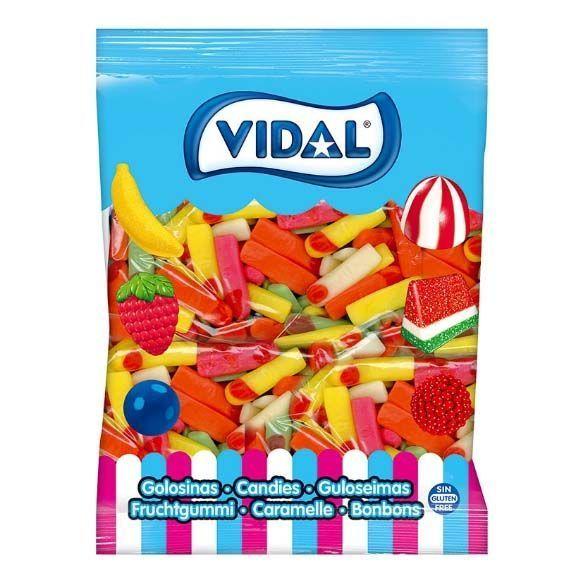 Gominolas Vidal Dedo Brillo 1Kg/250 U