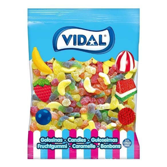Gominolas Cocktail Mix Azúcar Vidal 1kg