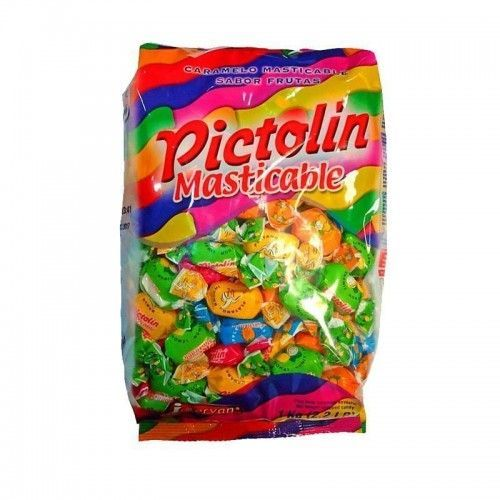 Caramelos Pictolin Masticables Frutas Surtidas 1Kg