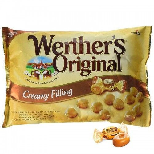 Caramelos Werther's Original Creamy Filling 1 Kg