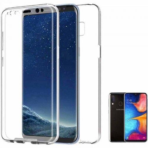 Funda 360 Grados para Samsung Galaxy A20e Transparente