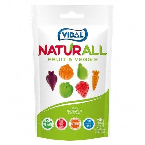 Gominolas Veganas FRUIT and Veggie – NATURALL. 180G