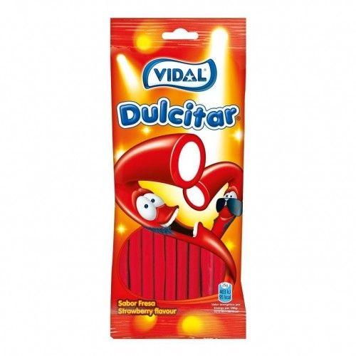 Vidal Dulcitar Fresa Bolsa 100 Gr. 1 Uds / 10 Uds