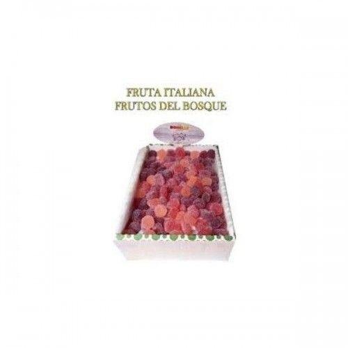 Gominolas veganas  FRUTA ITALIANA DEL BOSQUE FRIDA 3 KILOS.