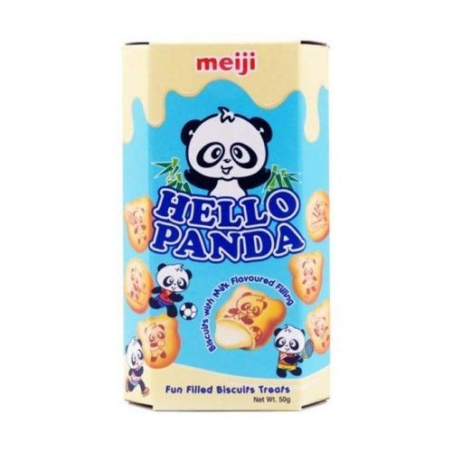 Galletas Hello Panda chocolate Blanco 10 Uds.