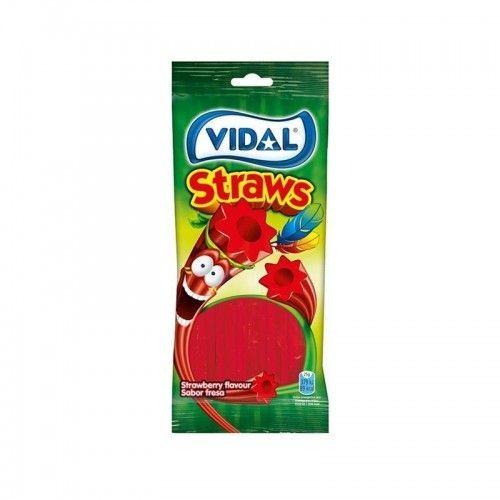 Vidal Lanzas Fresa Bolsa 100 Gr. 1 Uds / 10 Uds