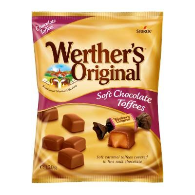 Caramelos Werther's Toffees y Chocolate 1 Kg.