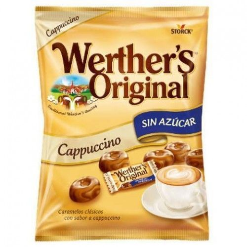Caramelos Werther's Cappuccino S/A 1 Kg.