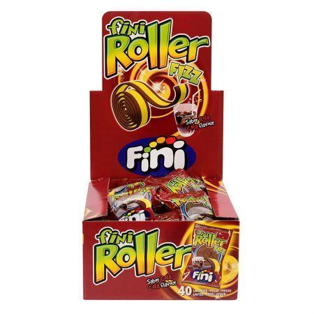 Fini Roller Cola 40 Uds.