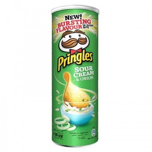 Pringles Crema y Cebolla 165g