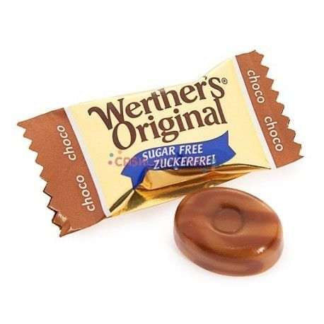 Caramelos Werther's Chocolate S/A 100g.