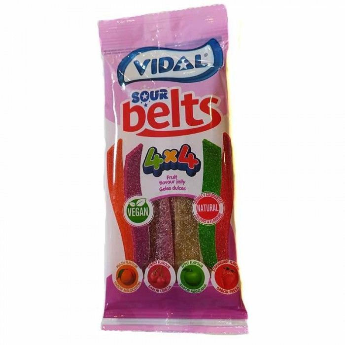 Cintas Veganas 4 Colores 4 Sabores Vidal